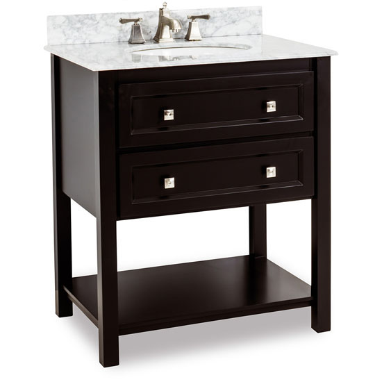 Jeffrey alexander adler bath elements bathroom vanity with - Jeffrey alexander bathroom vanities ...
