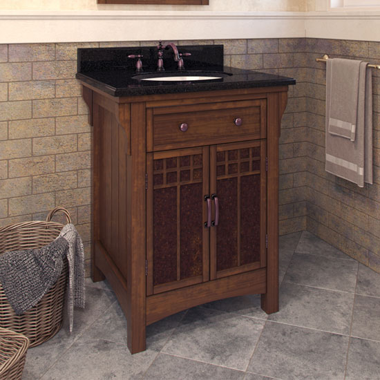 Jeffrey alexander westcott wright bathroom vanity with - Jeffrey alexander bathroom vanities ...