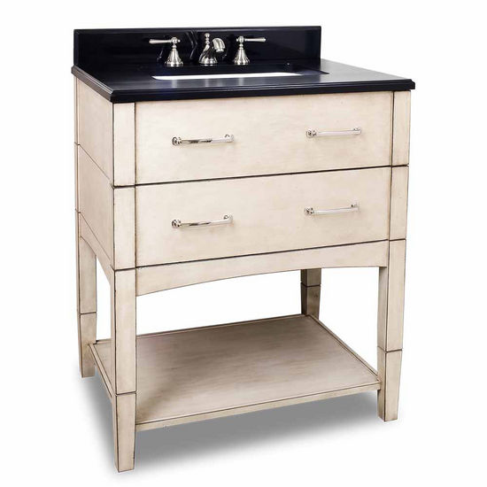 Jeffrey Alexander Concord Contemporary Bathroom Vanity With Granite Top