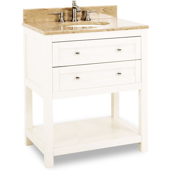 Jeffrey Alexander Astoria Modern Bathroom Vanity With Marble Top Porcel