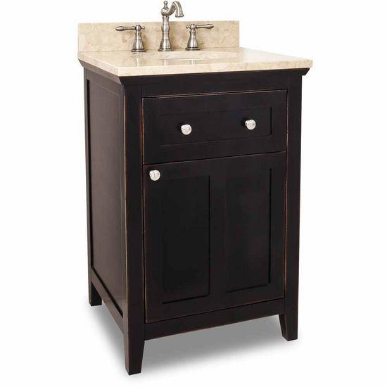 Jeffrey Alexander Chatham Shaker Bathroom Vanity Base In