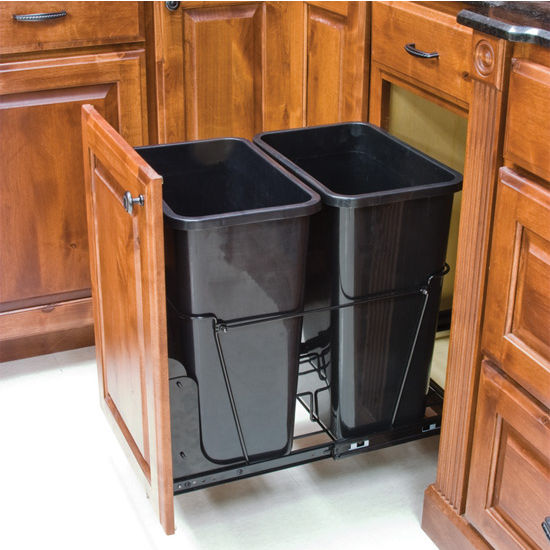 waste containers with different can finishes available 35 quart gallon or 50 quart 12 5. Black Bedroom Furniture Sets. Home Design Ideas