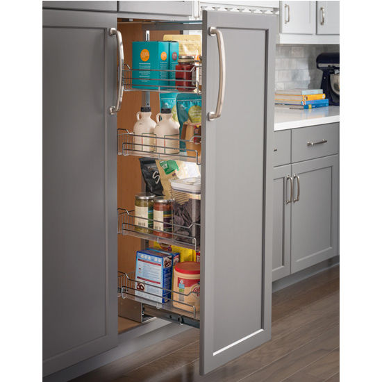 Wire Pantry Pullout, With Swingout Feature U0026 Heavy Duty Soft Close Slides,