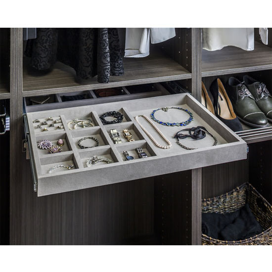 Jewelry Organizer Drawer Kit With 10 Compartments Amp Ring
