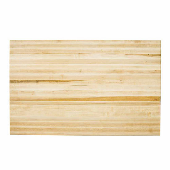 Jeffrey Alexander Hard Maple Butcher Block Top, for use with ISL01, ISL02, & ISL07 Islands