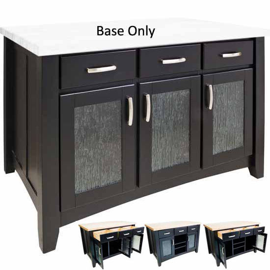 Kitchen Island No Top jeffrey alexander contemporary kitchen island with hard maple edge