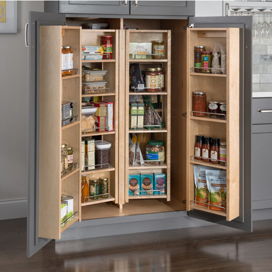 Pantry Organizers Swing Out Amp Door Mount Cabinets Made