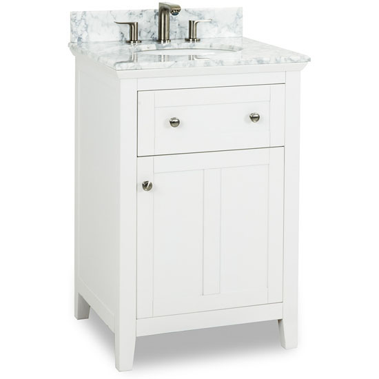 24 white shaker bathroom vanity. view larger image 24 white shaker bathroom vanity