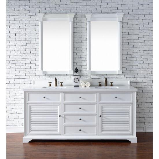 Cottage White 3cm Snow White- Front View