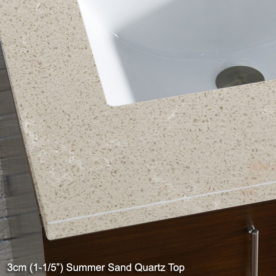 Summer Sand Quartz Top With Sink S In 26 To 30 Wide By James
