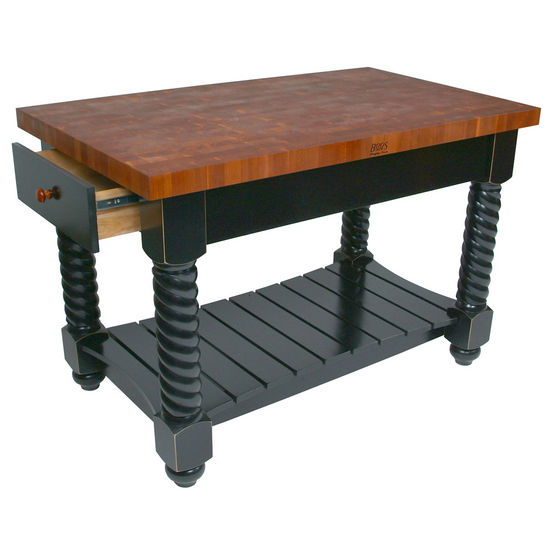 John Boos Cherry Tuscan Isle Boos Block Kitchen Islands ...