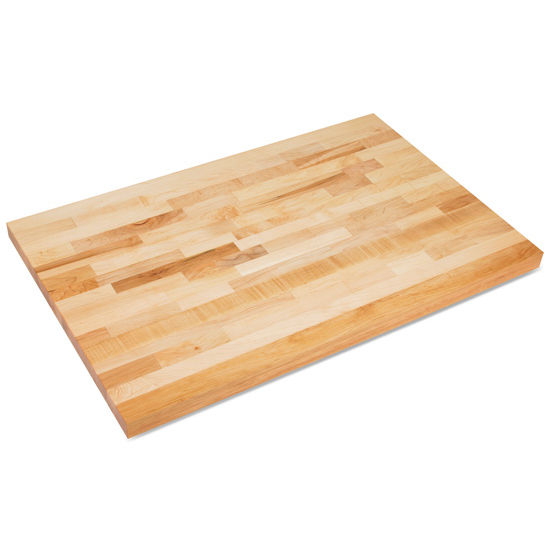 John Boos Hard Rock Maple Butcher Block Industrial Tops