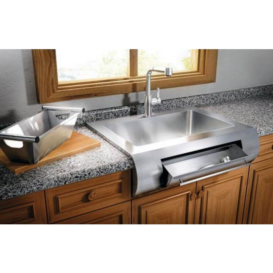 julien classic 0201 farmhouse 16 gauge stainless steel single bowl rh kitchensource com Best Stainless Steel Kitchen Sinks julien kitchen sinks stainless steel