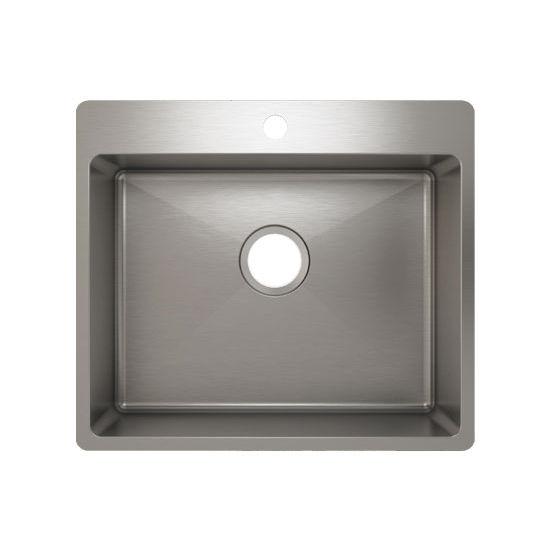 Julien J18 Stainless Steel Topmount Sink, 22-1/2''W x 19-3/4''D x 8''H