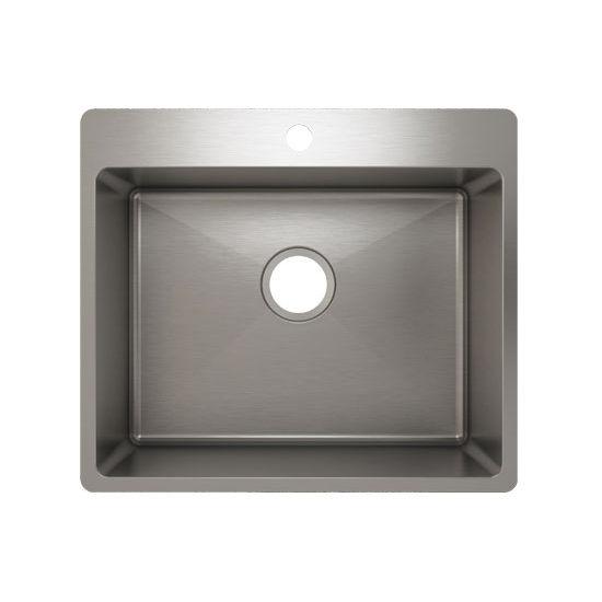 Julien J18 Stainless Steel Topmount Sink, 22-1/2''W x 19-3/4''D x 10''H