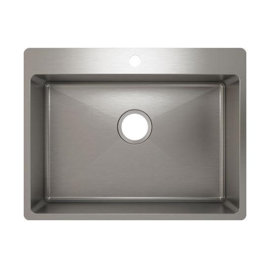 Julien J18 Stainless Steel Topmount Sink, 25-1/2''W x 19-3/4''D x 8''H