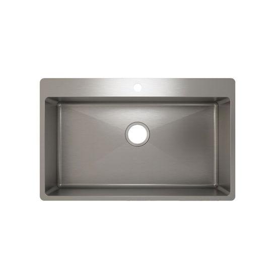Julien J18 Stainless Steel Topmount Sink, 31-1/2''W x 19-3/4''D x 8''H