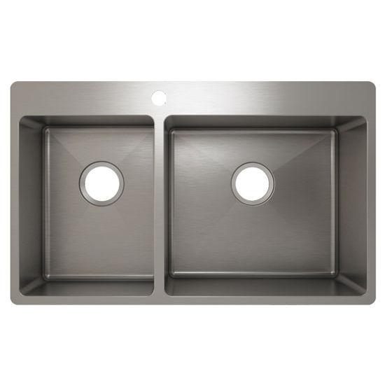 Julien J18 Stainless Steel Topmount Sink, 32-1/4''W x 19-3/4''D x 10''H