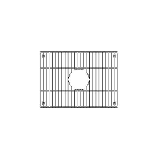 "Julien Stainless Steel Sink Grid for Julien Fireclay Sinks, 18-15/16""W x 13-13/16""D"