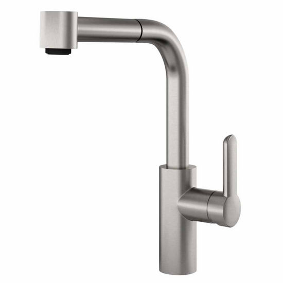 designer kitchen faucets. View Larger Image JULIEN 306002 306012 Pure Contemporary Kitchen Faucet with Pull