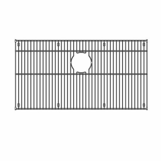 Sink Grids For Stainless Steel Sinks : JULIEN 200320 Stainless Steel Sink Grid for JULIEN Sink Bowl Measuring ...
