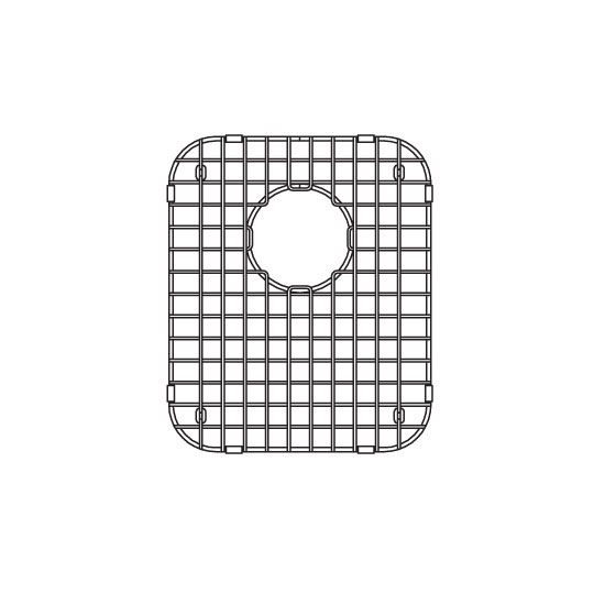 JULIEN 200400 Stainless Steel Sink Grid