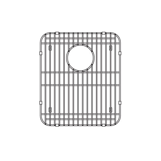 JULIEN 200408 Stainless Steel Sink Grid