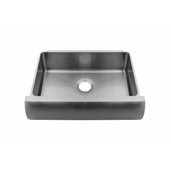 ... Sink with Single Bowl, 16 Gauge Stainless Steel, 30