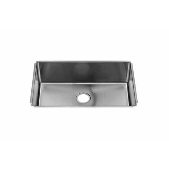 JULIEN J18 Collection Undermount Sink with Single Bowl, 18 Gauge Stainless Steel
