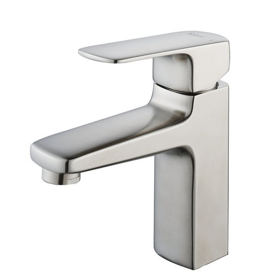 Kraus Virtus Brushed Nickel Single Lever Basin Faucet