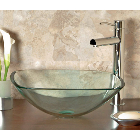 Cantrio Koncepts Glass Vessel Bathroom Sink