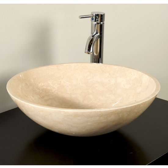 Cantrio Koncepts Egyptian Marble Vessel Bathroom Sink