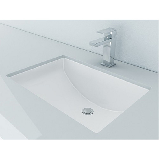 Vitreous China Rectangular Bathroom Sink