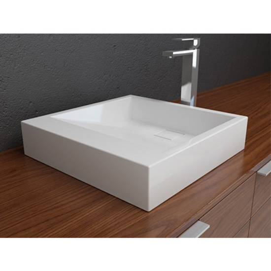 Cantrio Koncepts Solid Surface Above Counter Bathroom Sink
