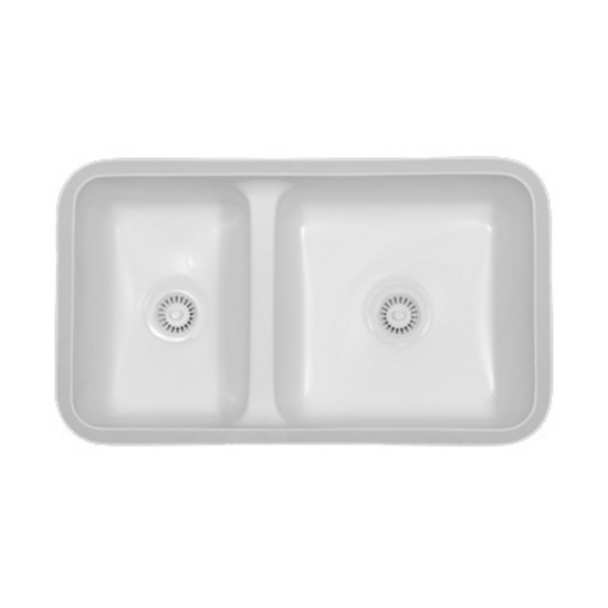 Karran Kingston Double Bowl Under Mount Sink