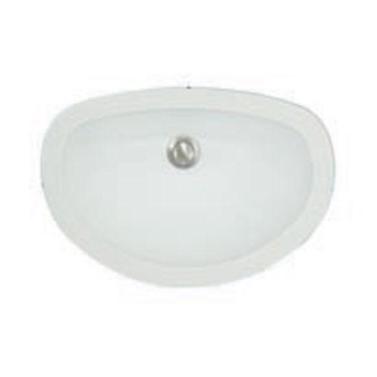 Karran Windsor D Shaped Single Bowl Under Mount Vanity Sink