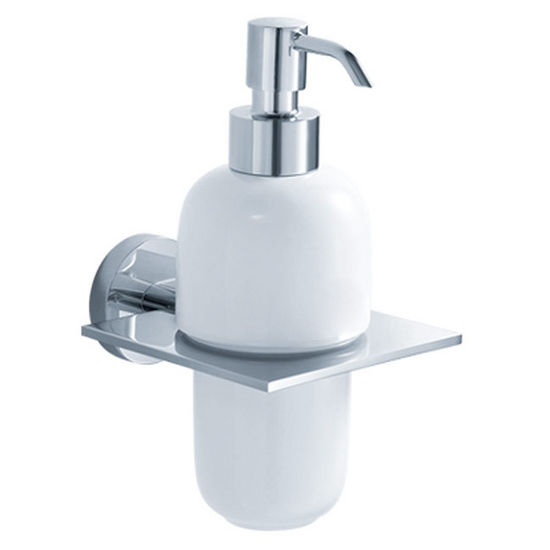 Kraus Imperium Bathroom Wall Mounted Ceramic Lotion Dispenser