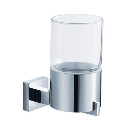 Kraus Aura Bathroom Wall Mounted Glass Tumbler Holder
