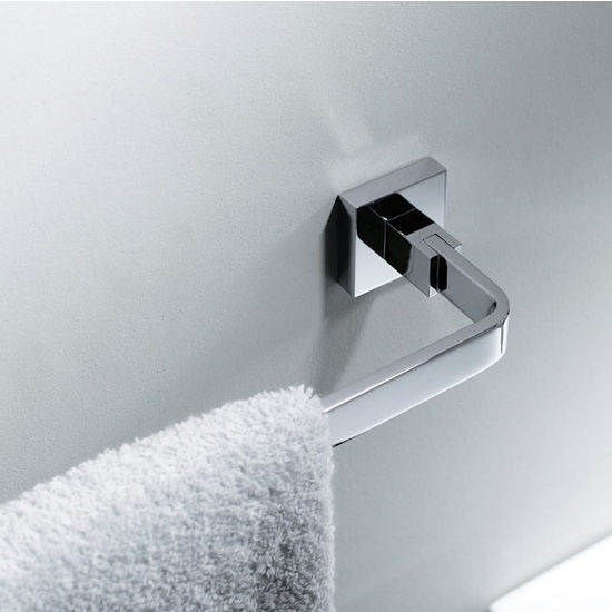 Kraus Aura Bathroom Towel Bar 600mm