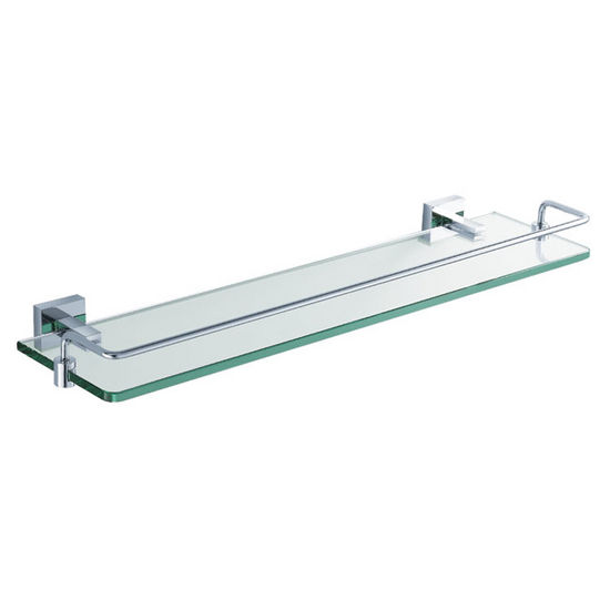 Kraus Aura Bathroom Shelf with Railing