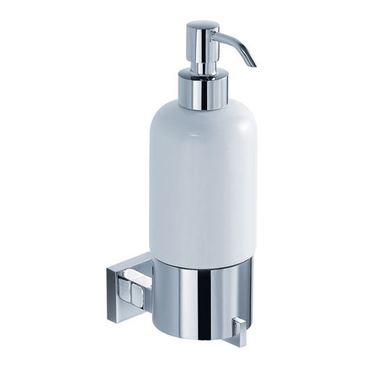 Kraus Aura Bathroom Wall Mounted Ceramic Lotion Dispenser