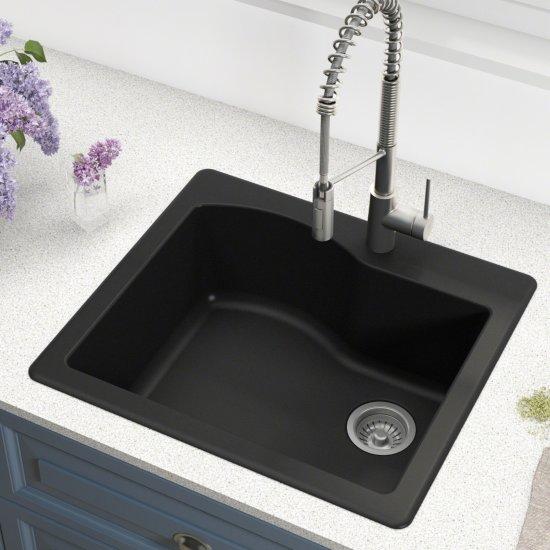 Kraus Black Sink Lifestyle View 1