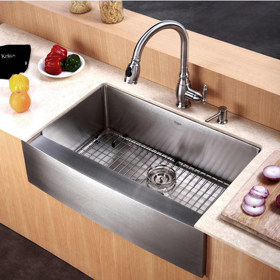 24 Inch Stainless Steel Farmhouse Sink : ... -30 - 30