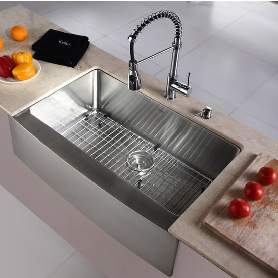 Superbe Kraus Kitchen Sink Set