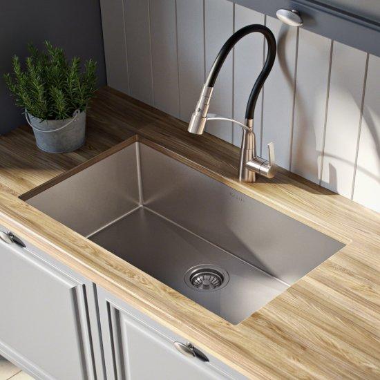 Standard Pro Undermount Stainless Steel 28 In Single Bowl Kitchen Sink