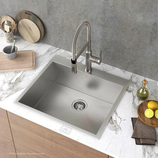 1 Pre-Drilled Hole Sink Set