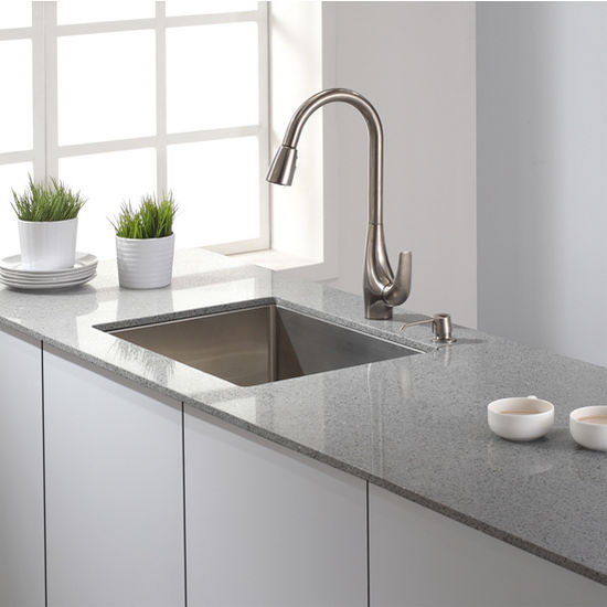 Kraus KPF-1621SS Faucet Stainless Steel
