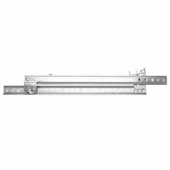 Knape & Vogt Side Mounted, 3/4 Extension, 60 lb Roller Bearing Drawer Slides (Pair),  12'' - 24'' Long in Multiple Finish