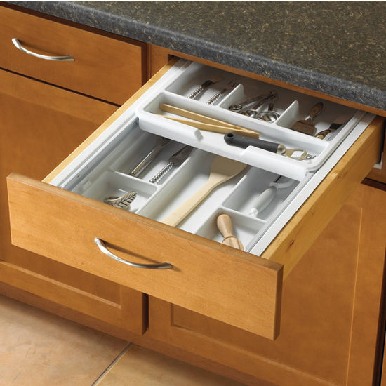 Knape Amp Vogt Double Tiered Kitchen Cutlery Drawer Insert