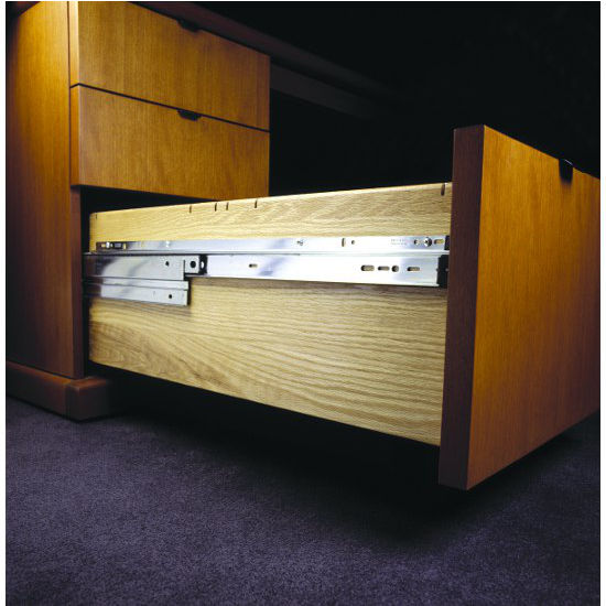 slides knape single track ip drawers drawer slide and vogt zinc kit